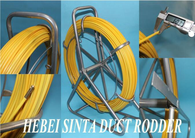 6mm portable duct rodder 1