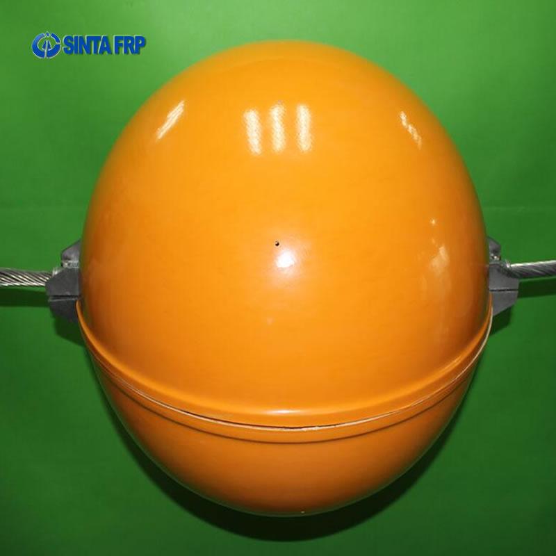 Orange Aircraft Warning Sphere