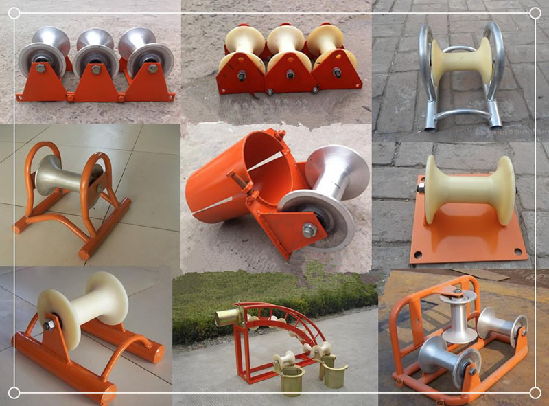 Aluminum Alloy Cable Roller 3