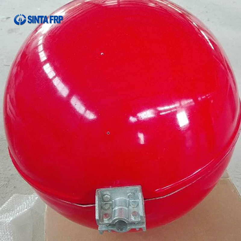 Red Aircraft Warning Sphere
