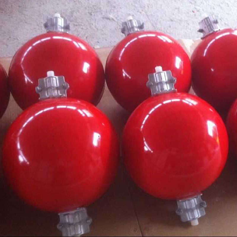Red Aircraft Warning Sphere 9