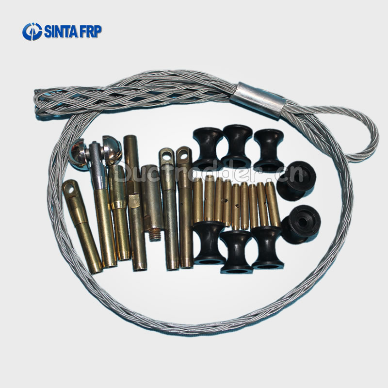 Repair Kit of fiberglass duct rodder